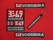 YOSHIMURA STICKER DECAL SET. WITH KEY CHAIN RING. HONDA SUZUKI YAMAHA KAWASAKI
