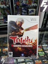 TENCHU shadow assassins NINTENDO WII - WII U NEUF/NEW