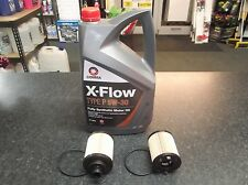 FIAT PUNTO EVO GRANDE (199) 1.3D SERVICE KIT OIL FILTERS (X2) AND 5 LITRES XFLOW