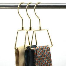 Nonslip Steel Tie Rings Holder Organizer for Neckties Shawls Scarves 10/30/LOT