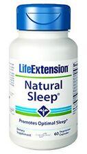 Natural Sleep - Life Extension - 60 Vegetarian Capsules