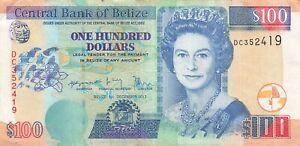 Belize 100 Dollars 2017 P-71