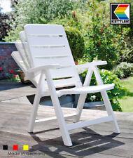 KETTLER Nizza Multipositionssessel in weiß 01402-000 Klappsessel Sessel Stuhl