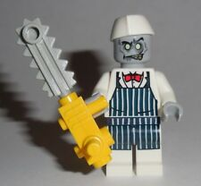 HALLOWEEN #12 Lego Zombie Chef / Butcher w/ Chainsaw NEW Monster Fighters Spooky