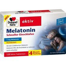 DOPPELHERZ Melatonin Tabletten  120 st  PZN16874267