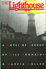 The Lighthouse by Bill Pronzini & Marcia Muller-Signed 1st Edition/DJ-1987