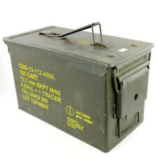 Caisse à munitions Cal. 50 ou 5.56 (occasion)