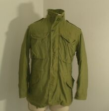 Vintage 70s ODB Army Green Military M-65 cold weather Coat Jacket XS SHORT