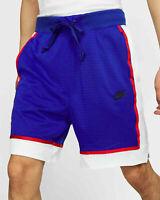 Nike Mesh Basketball Shorts Sportswear Men's Active Size XXL Blue White Red New