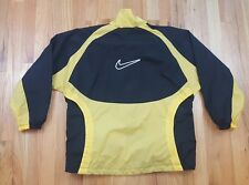 MENS WOMENS NIKE JACKET SIZE MEDIUM SEE DESCRIPTION SPELLOUT VTG WINDBREAKER