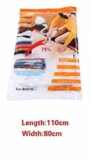 110x 80cm Super Larger Bag Space Saver Saving Storage Bags Vacuum Sealer Clothes