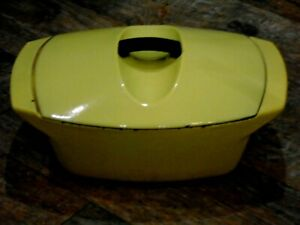 Le Creuset  Casserole Dish 4.5 L  Raymond Loewy  Yellow