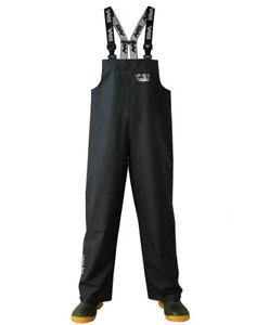 Vass Tex 175 Bib & Brace Black * Waterproof Lightweight * Fishing Clothing *