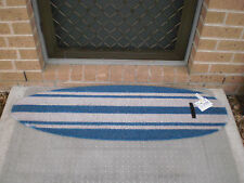 SurfBoard Profile Blue Natural Coir on PVC Backing