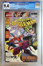 Amazing Spider-Man Annual #24 Ant-Man Marvel 1990 CGC 9.4 NM WhiteP Comic W0035