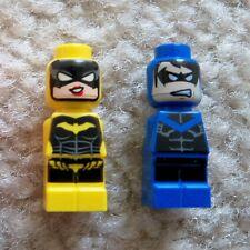 LEGO Batman - Rare - Batgirl & Nightwing Microfigs - New - From 50003