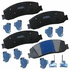 Stop by Bendix Semi-Metallic Disc Brake Pad Set Front/Rear SBM1631