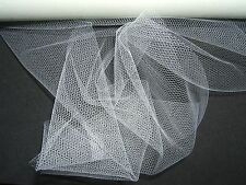 Ivory Finest Tulle Net Bridal Wedding Crafts Favours Sewing Bouquet Flower Wrap
