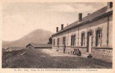 Camp de la Fontaine du Berger - l'Infirmerie -