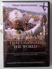 NINE DAYS THAT CHANGED THE WORLD  hosted by newt & callista gingrich   DVD