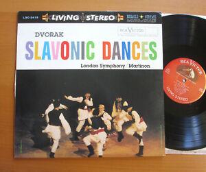 LSC-2419 Dvorak Slavonic Dances Martinon NM RCA Living Stereo 180g Reissue