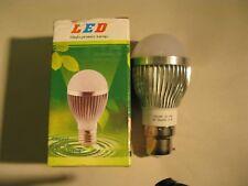 10 x 3W Dimmable BC B22 Warm White LED Light Lamp Bulb Low Energy 240V JobLot