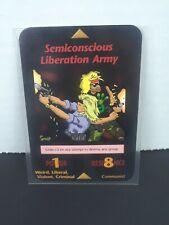 "ILLUMINATI CARD ""Semiconcious Liberation Army"" New World Order Card Game"