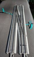 HO Bachmann Silver EZ Track Left Crossover #6 Model Railroad Switch Turnout LH