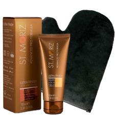St Moriz Ultra Finish Skin Perfecting Tancealer plus Soft Velvet Tanning Mitt
