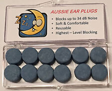 Ear Plugs - Moldable (6 pairs) - Snoring, Motorbike, Travel, Sleep, CPAP, NRR 34
