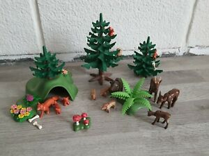 PLAYMOBIL - Animaux de la forêt 3006 | Set Complet (Disponible 1998)