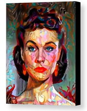 Framed Gone With The Wind Scarlett O'Hara Abstract Art Print Limited Edition