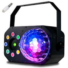 American DJ ADJ Stinger Star LED Moonflower + Wash Light + Red Green Laser DMX