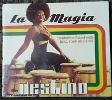 La Magia Destino CD 2015 Candombe Fused With Jazz, Rock Soul Out Of Print Rare!