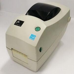 USED Zebra TLP 2824 PLUS 2-inch Thermal Transfer USB Desktop Printer 883PLUS