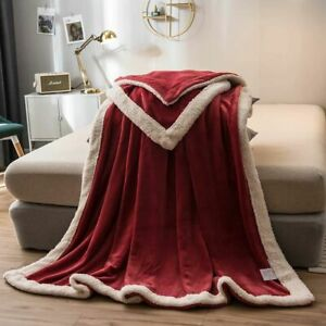 Thick Throws Blanket Bedding Comforter