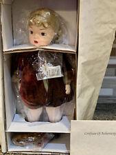 Terri Lee Winter Coat Doll Nib ~In Wrap~ W/Coa #218 -Box & Stand Ltd Edition