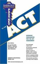 NEW - Pass Key to the ACT (Barron's Educational Series: Pass Key)