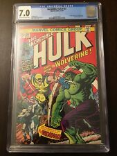 The Incredible Hulk #181 **First Appearance of Wolverine** - CGC 7.0 FN/VF