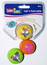 Baby Baby Roll n Rattle Fun Baby Toy Colourful & Sounds 3 Months+ Great Gift