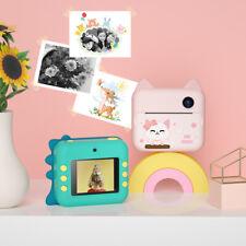 Quick Fast Instant Print Printing Kids Camera Digital Camcorder Cam For Kids Boy