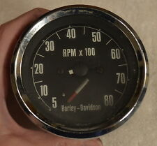 1970 Harley Davidson Ironhead Sportster Tachometer
