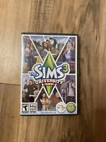 The Sims 3 Plus University Life - PC & MAC DVD ROM Computer game -Factory Sealed
