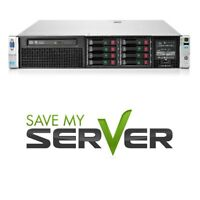 HP Proliant DL380 G8 server 2x E5-2609 2.40GHz 4-Core 32GB RAM SPS