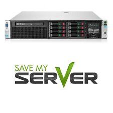 Hp Proliant Dl380 G8 server 2x E5-2609 2.40Ghz 4-Core 32Gb Ram Sps