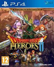 Dragon Quest Heroes II 2 Explorer's Edition PS4 * Neuf Scellé PAL *