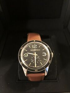 Bell & Ross Vintage GMT Dial Automatic Men's 42mm Watch