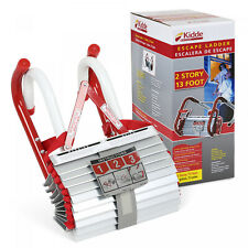 Portable Emergency Fire Escape Ladder Rope Metal Life Home Window Safety House