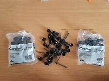 x60 Coroline Roofing Corrugated Bitumen Roof Sheet Fixing and Washer Black