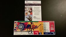 AROD ALEX RODRIGUEZ SIGNED 1ST POST-SEASON HR HOME RUN TICKET STUB JSA COA